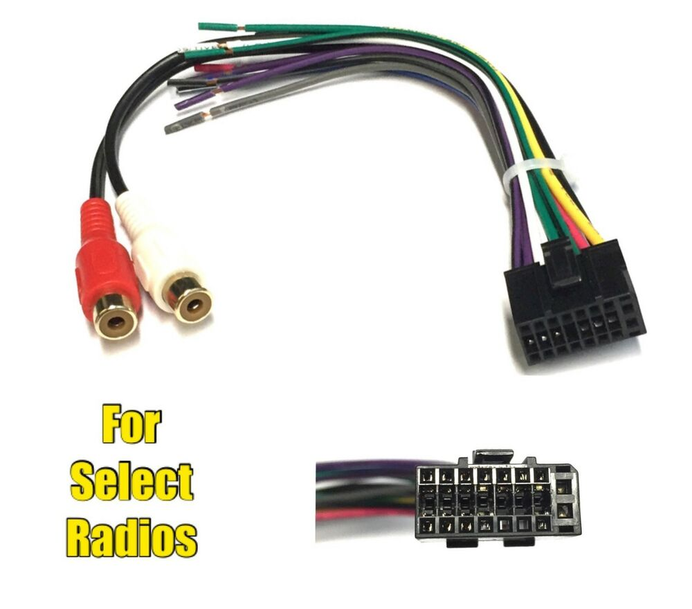 car stereo radio replacement wire harness plug for some