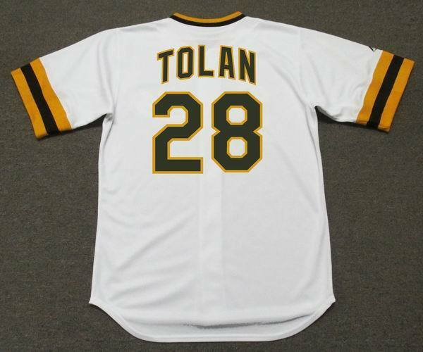 BOBBY TOLAN San Diego Padres 1974 Majestic Cooperstown Home Baseball Jersey   6baf1c227