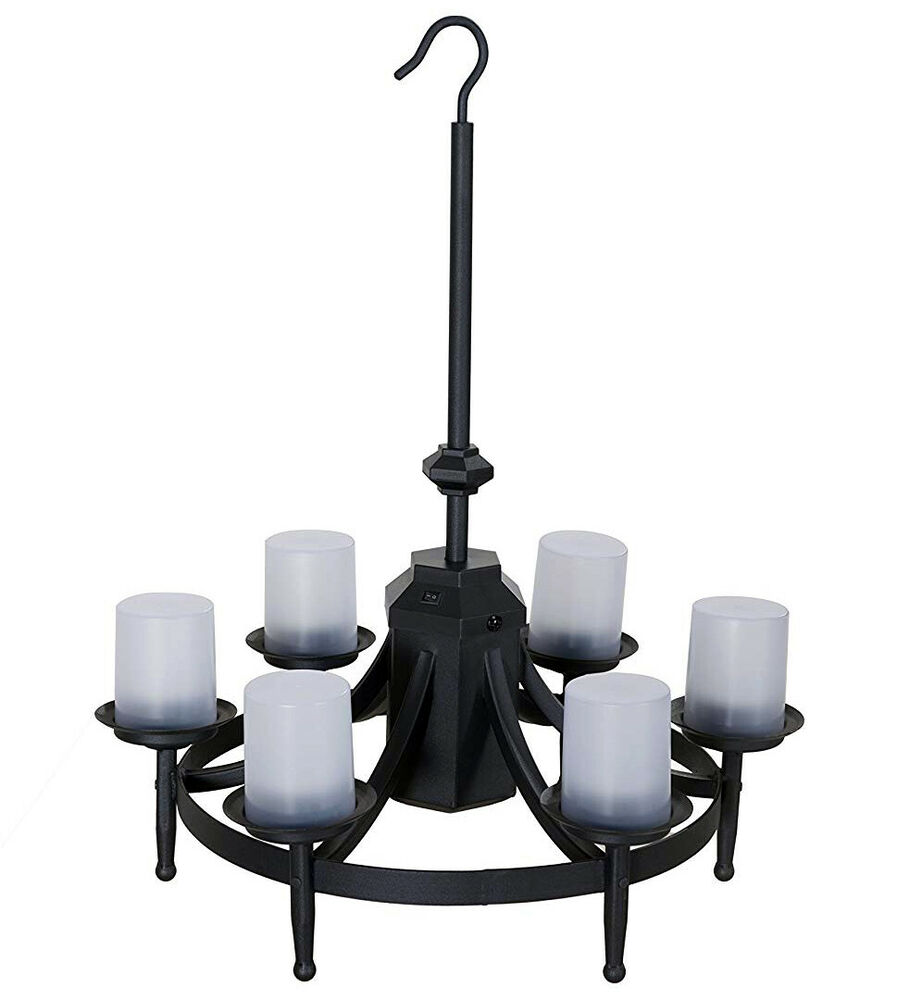 Chatham Gazebo LED Outdoor Chandelier w Remote Control – Outdoor Chandelier