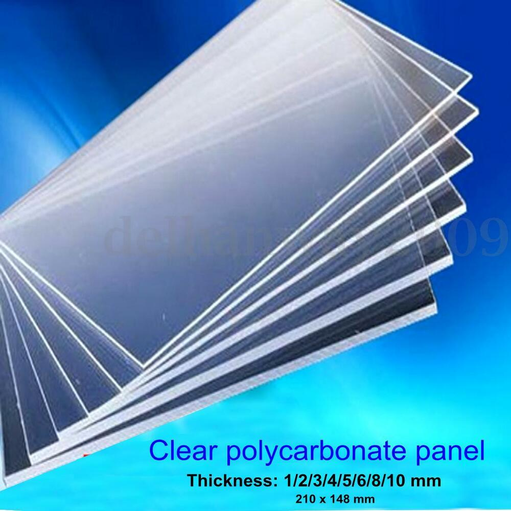 Clear Polycarbonate Sheet Lexan Panel Greenhouse Shed