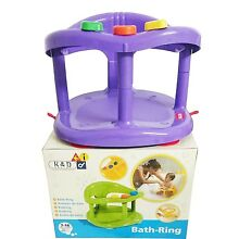 Baby Bath Tub Ring Seat KETER Color PURPLE FAST SHIPPING FROM USA New in BOX