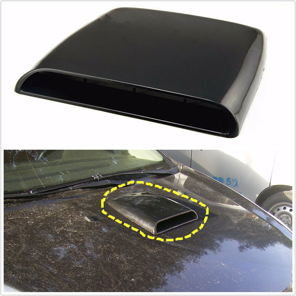 Air Scoops For Cars : Universal car decorative air flow intake hood scoop vent