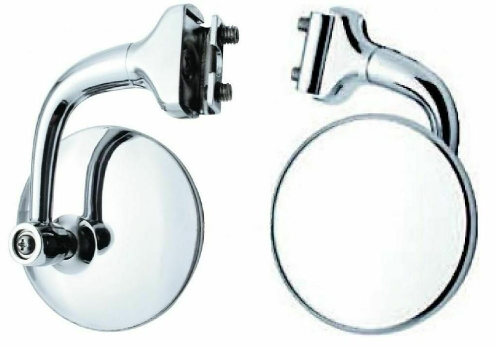 4 Quot Convex Curved Arm Peep Mirror Outside Side Door Frame