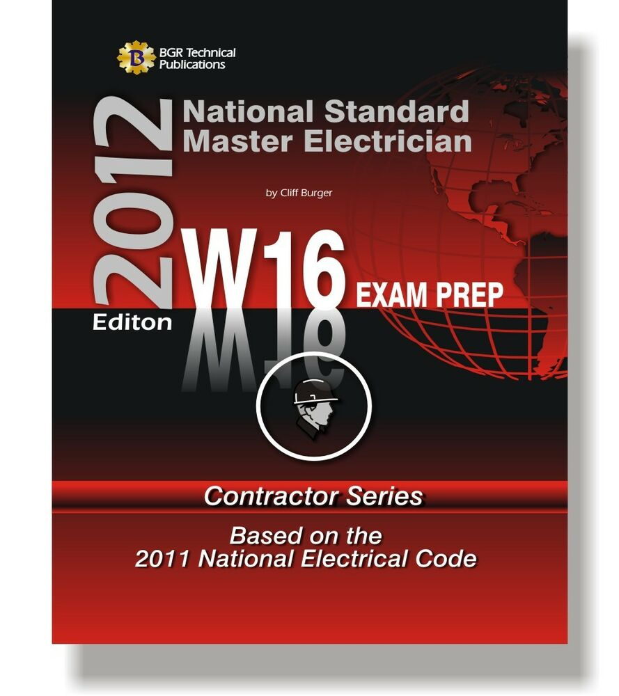 W16 National Standard Master Electrician Questions Workbook Icc Exam