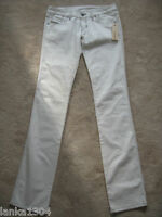 "Diesel Designer Off White Straight Trouser Jeans (NEW) Waist 28""-Leg 34"""