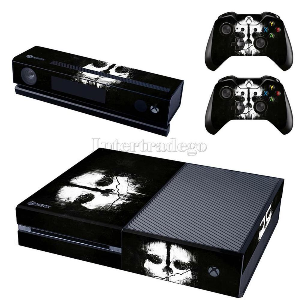 Cool Ghost Game Skin Sticker for Xbox One & Kinect & 2 ... Xbox One Skins Ebay