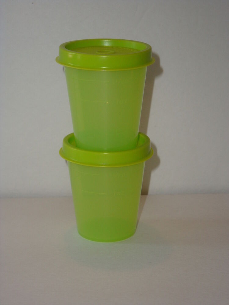 Tupperware Midgets Containers Storage Spices Lunch Sides