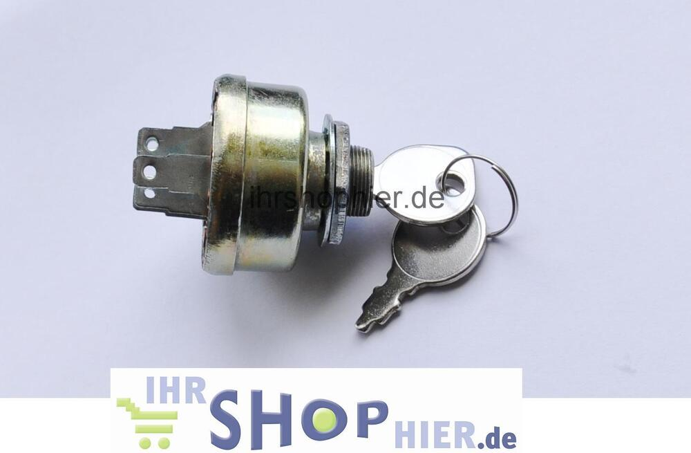 Garden Tractor Ignition Switch : Ignition lock ride on mower lawn tractors switch