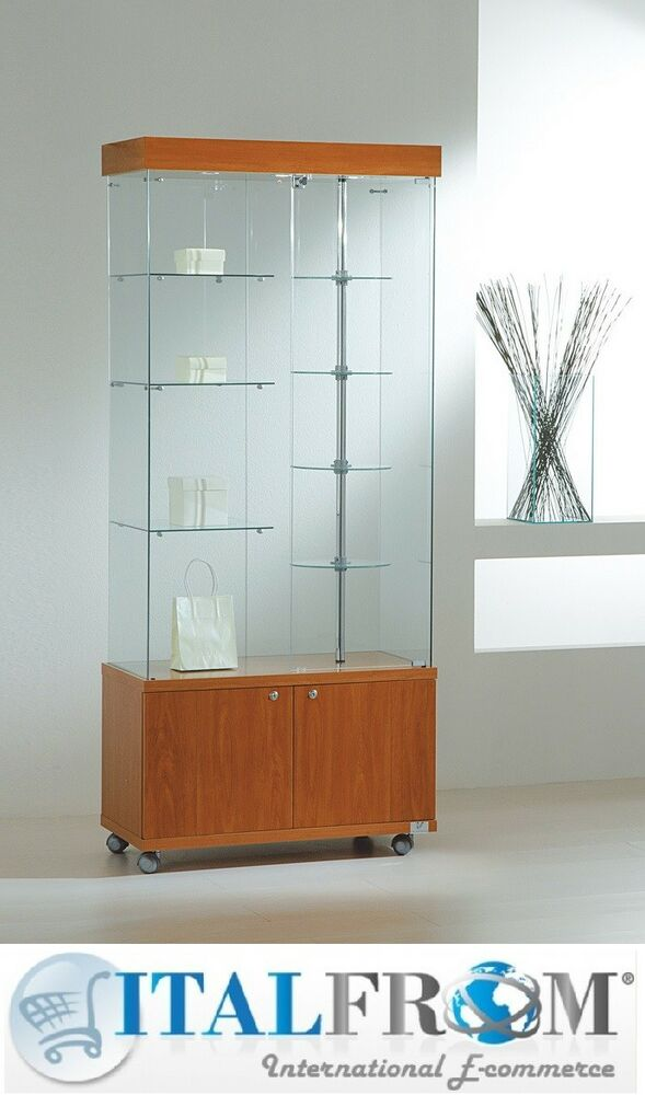 rotating shelves kitchen cabinets glass showcase display with rotating shelves lights and 25656