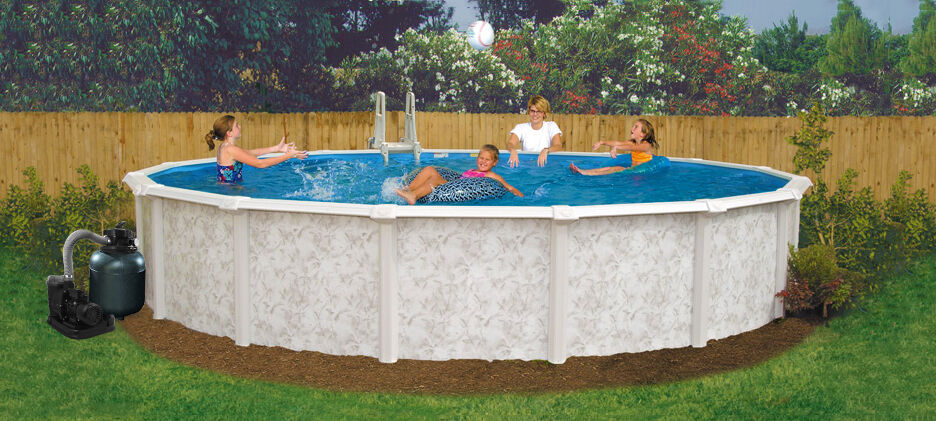 24 39 X 52 Above Ground Pool Complete Package 20 Yr Warranty Mystique Ebay