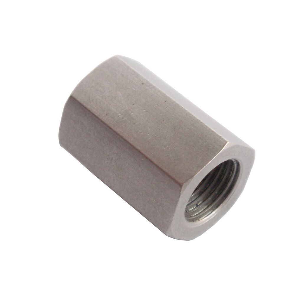Metal Pipe Coupling : Stainless steel female coupling adapter fitting quot npt