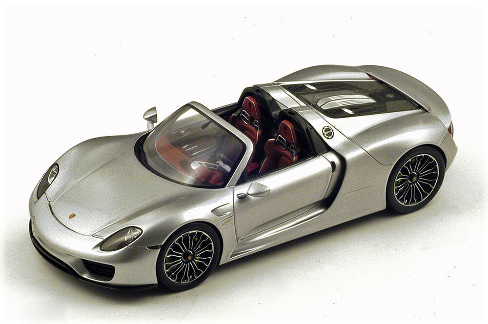 spark 2014 porsche 918 spyder open roof 1 18 new ebay. Black Bedroom Furniture Sets. Home Design Ideas