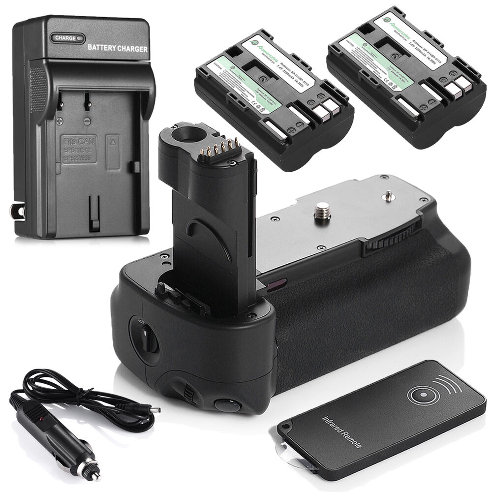 Bg E2n Battery Grip For Canon Eos 50d 40d 30d 20d 2 X Bp