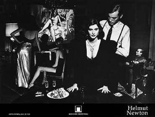 Black And White Erotic Helmut Newton Vogue Photo Nude Print Poster Rare Last One  Ebay-3694