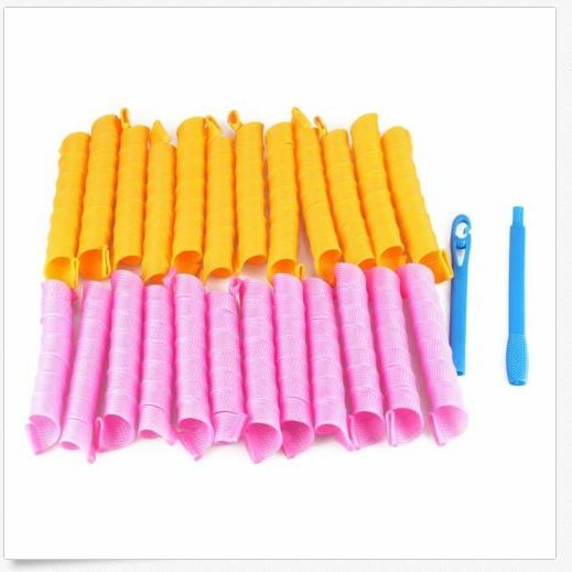 18 40pcs Hair Rollers Hot Diy Curlers Large Magic Circle
