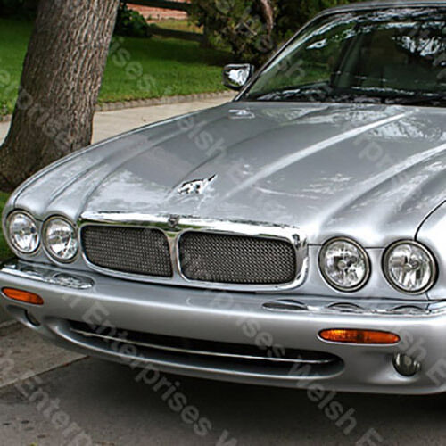 jaguar xj8 1998 2003 mesh grille grill inserts hnc. Black Bedroom Furniture Sets. Home Design Ideas