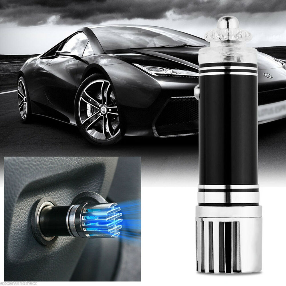 new mini auto car home fresh air ionic purifier oxygen bar ozone ionizer cleaner ebay. Black Bedroom Furniture Sets. Home Design Ideas