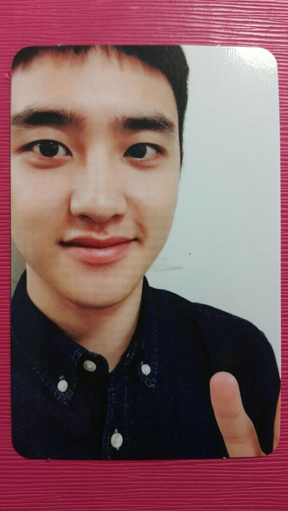 EXO DIO D.O Official Photocard MONSTER ver 3rd Album EXACT ...