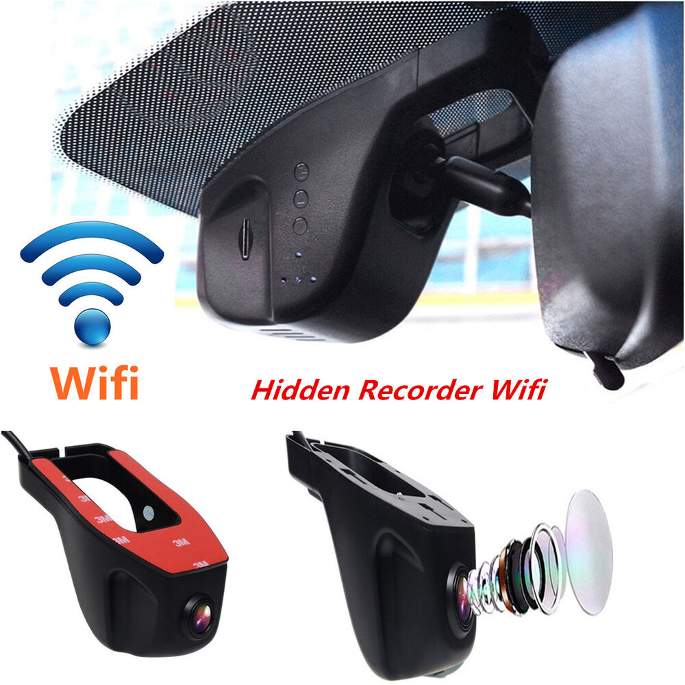 wifi 1080p hd spy hidden car camera dvr video recorder night vision dash cam ebay. Black Bedroom Furniture Sets. Home Design Ideas