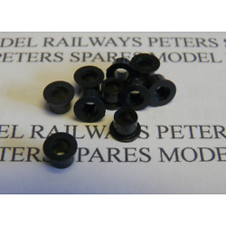 Peters Spares PS19 Triang Hornby S5065 Replacement (Early) Wheel Bush (Pk10)