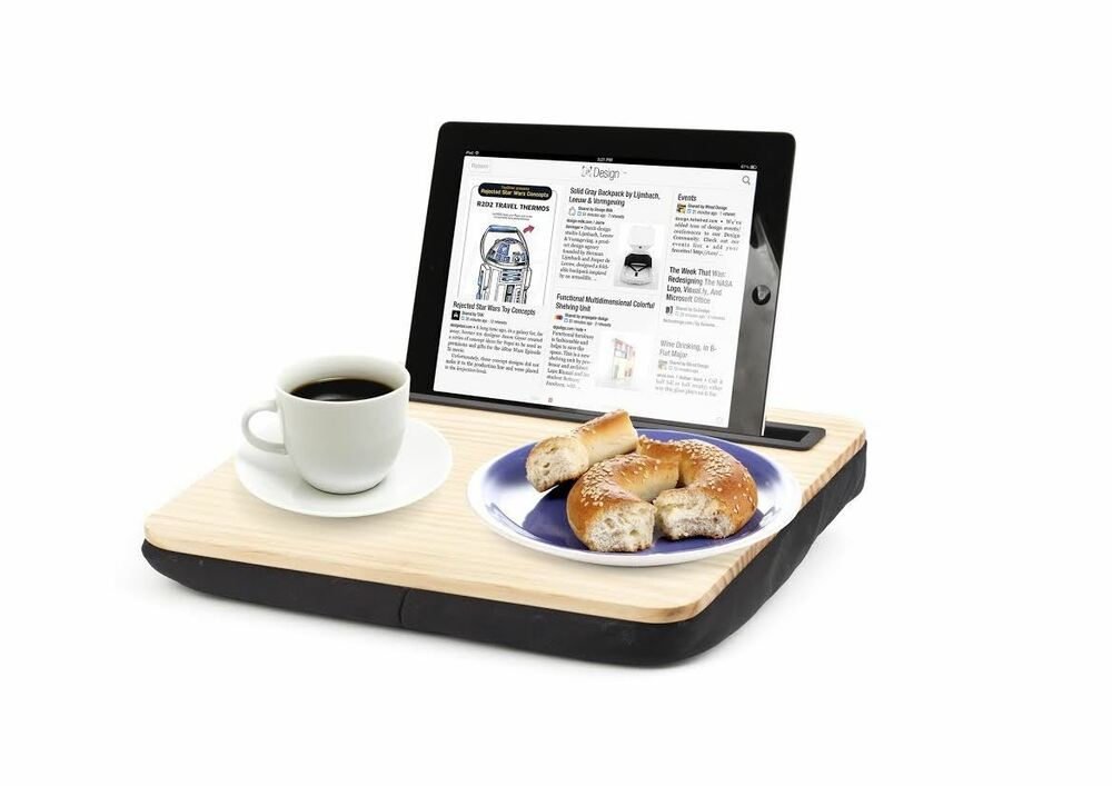 kikkerland ibed lap desk for ipads and tablets black was wearing