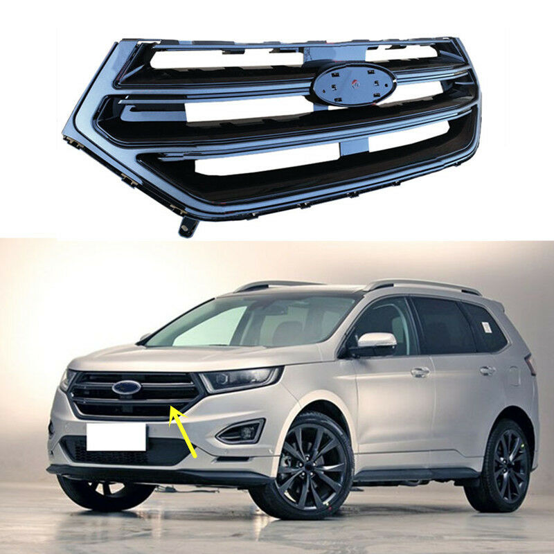 For Ford Edge 2 7t 2015 2016 1pc Front Grille Vent Trim C Ebay