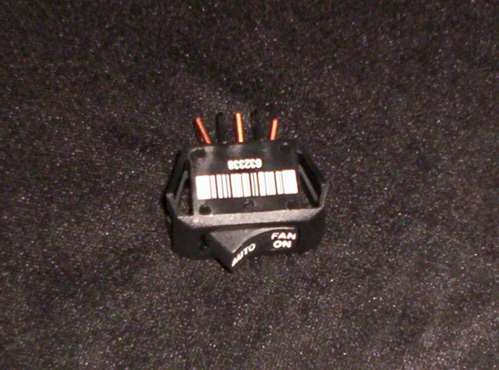 632338 Nordyne  Intertherm  Miller Mobile Home Furnace On  Off Switch Oem Part