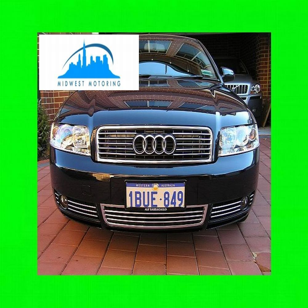2002 2005 Audi A4 A6 A8 Chrome Trim For Lower Grill Grille
