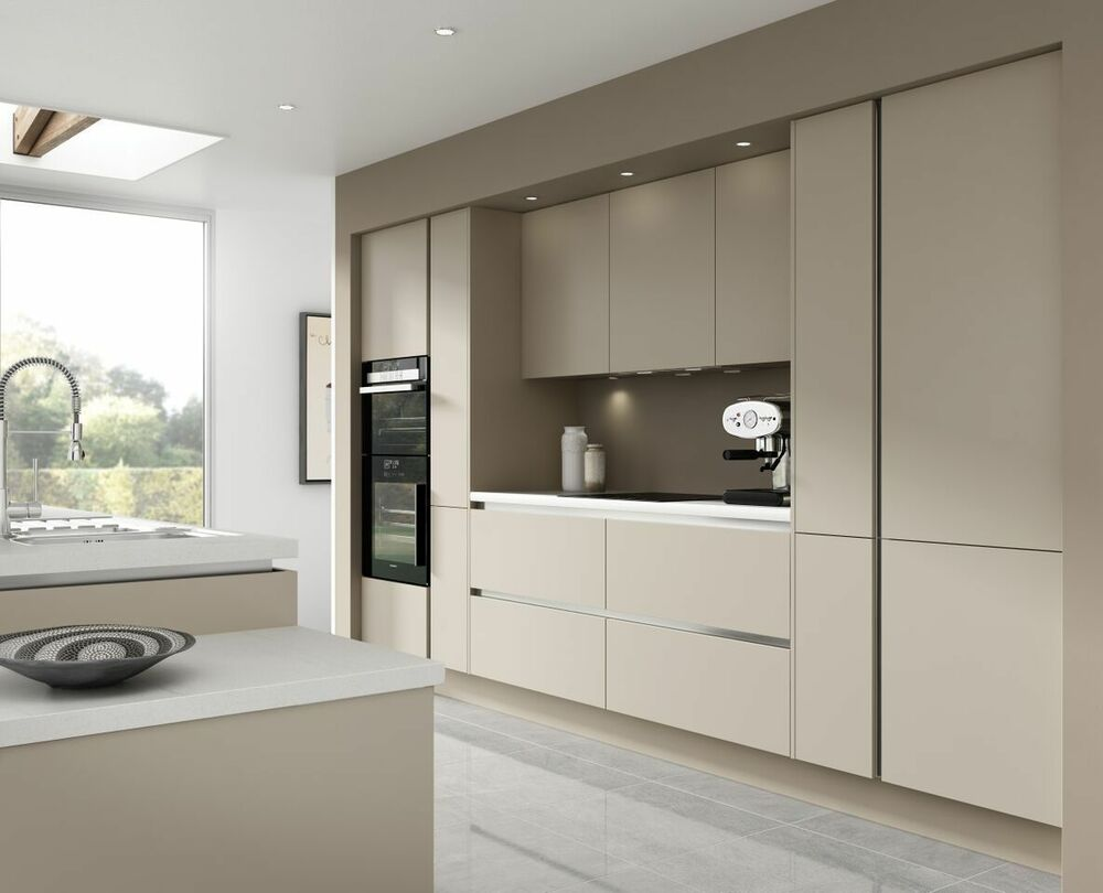 kitchen unit designs pictures 7 kitchen units warm grey handless kitchen rigid 6358