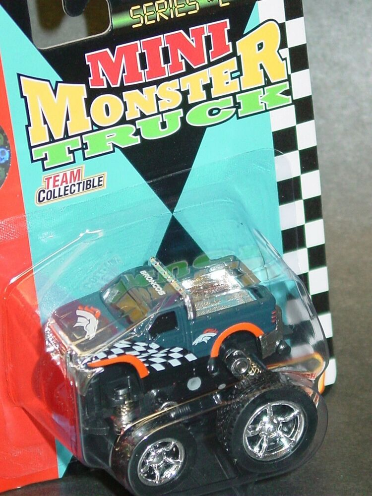 Nfl Toy Trucks : Nfl mini monster truck denver broncos new ebay
