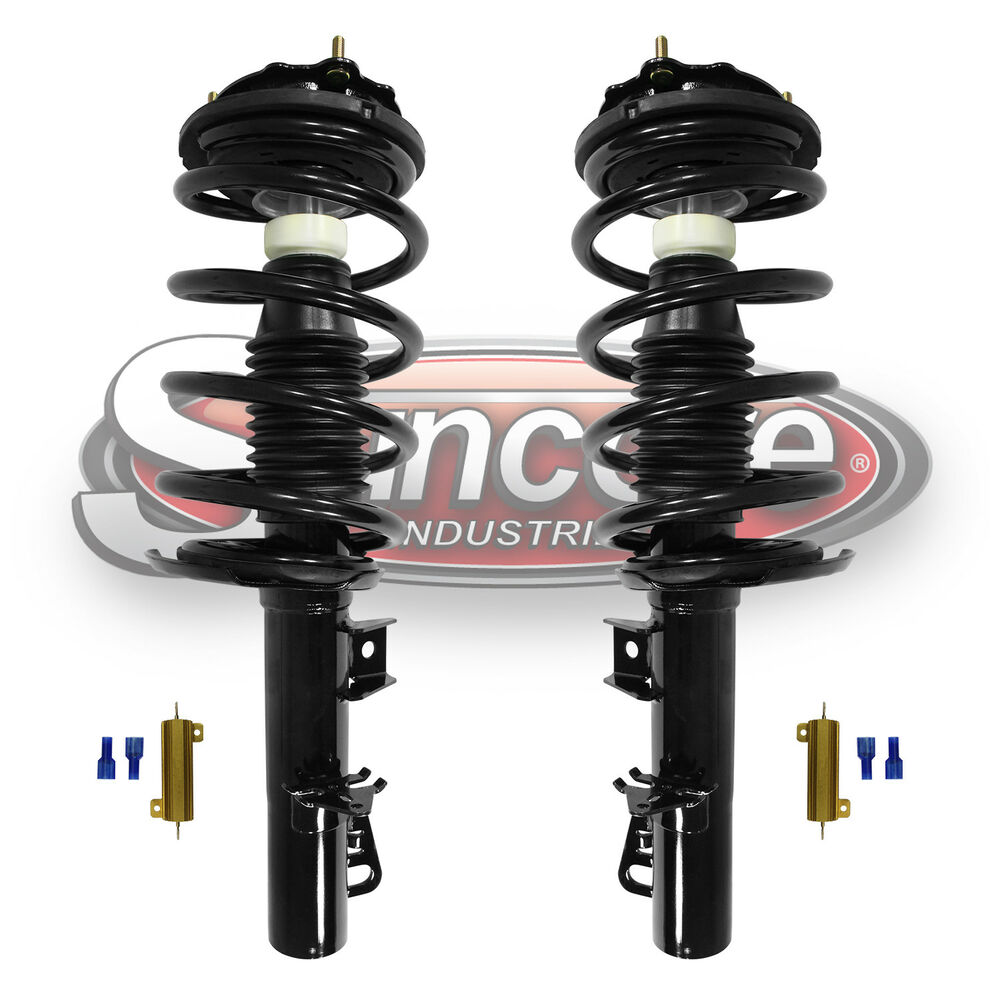 1995 2002 lincoln continental front air suspension to quick strut conversion. Black Bedroom Furniture Sets. Home Design Ideas