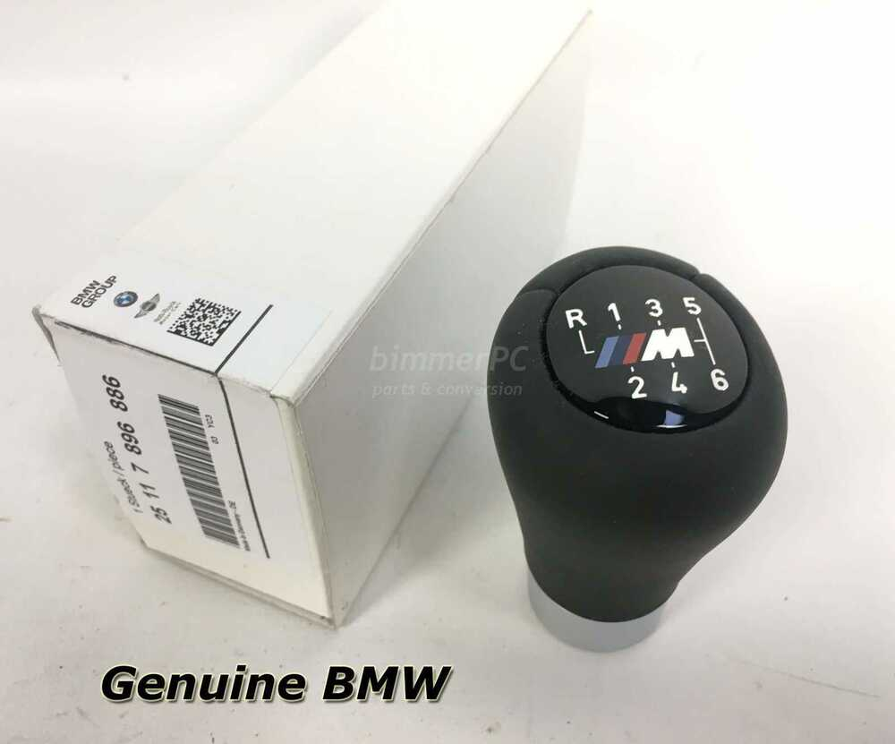 New Bmw Motorsport Weighted 6 Speed M Leather Shifter Knob