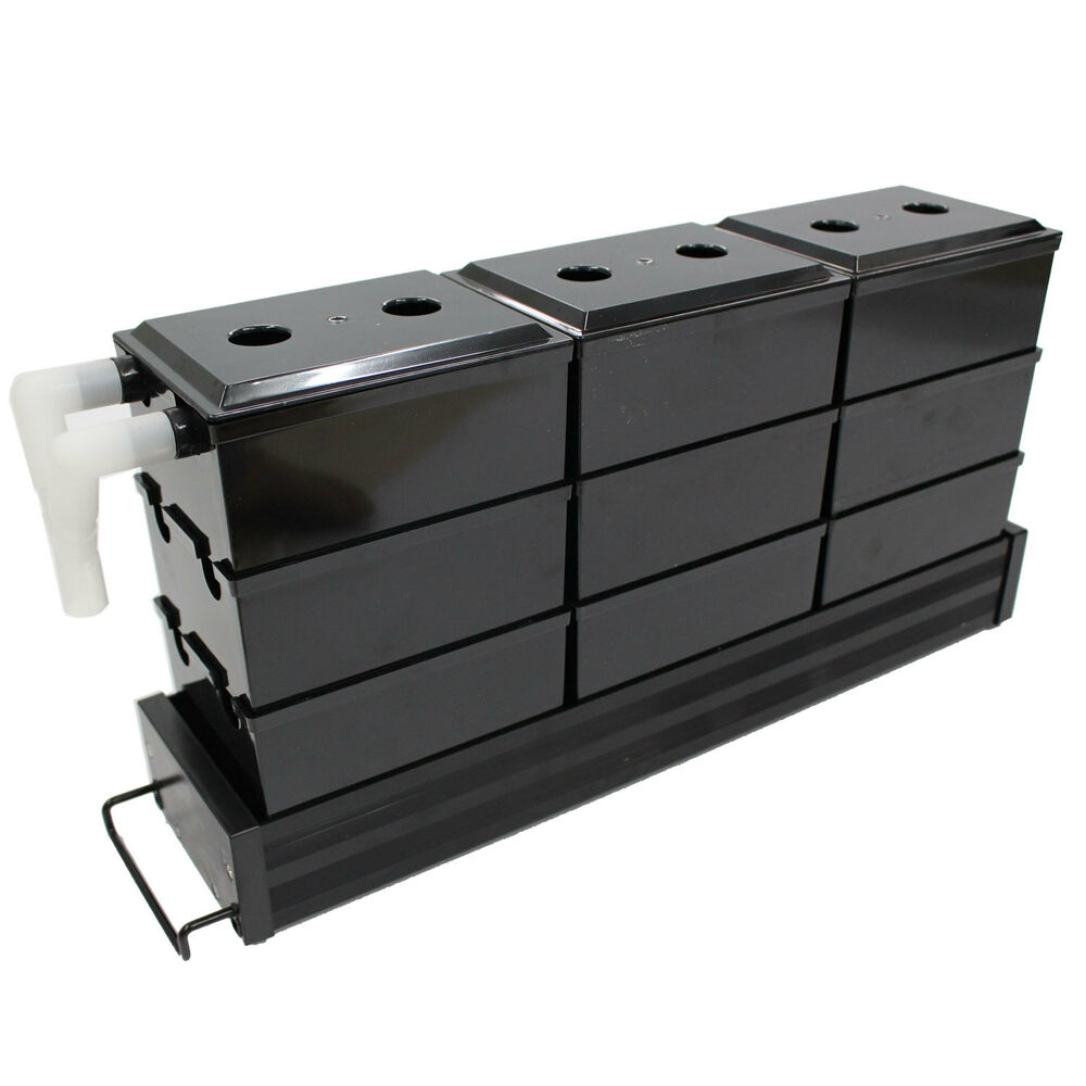 Aquarium upper trickle box filter system for 40cm 120cm for Fish tanks for sale ebay