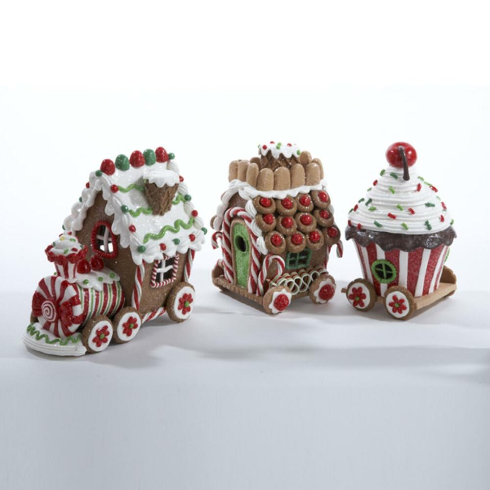 Gingerbread kisses lighted candy train engine for Edible christmas gifts to make in advance