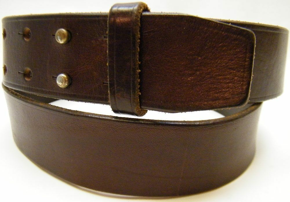 Abercrombie Accessories Abercrombie Accessories Abercrombie Womens Abercrombie Couple Abercrombie Womens: WOMEN ABERCROMBIE FITCH BROWN GENUINE LEATHER DOUBLE PRONG