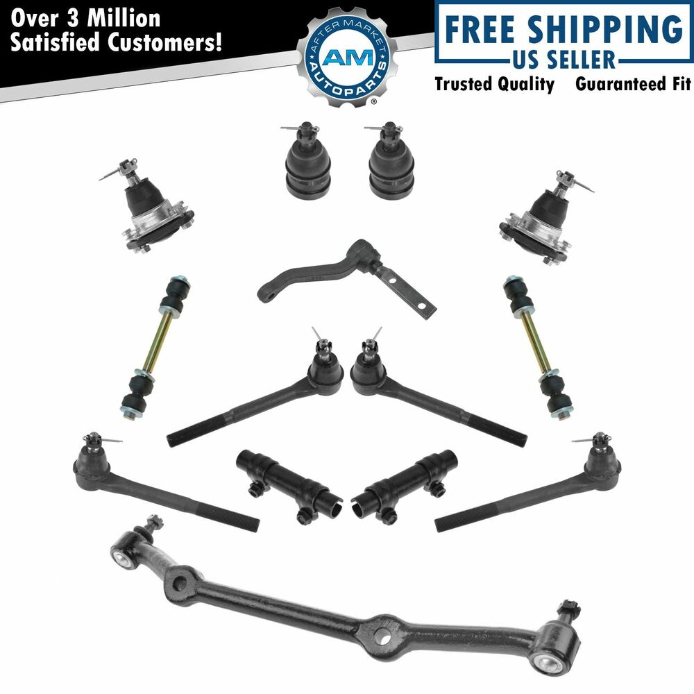 front complete suspension set kit for gm pickup truck suv