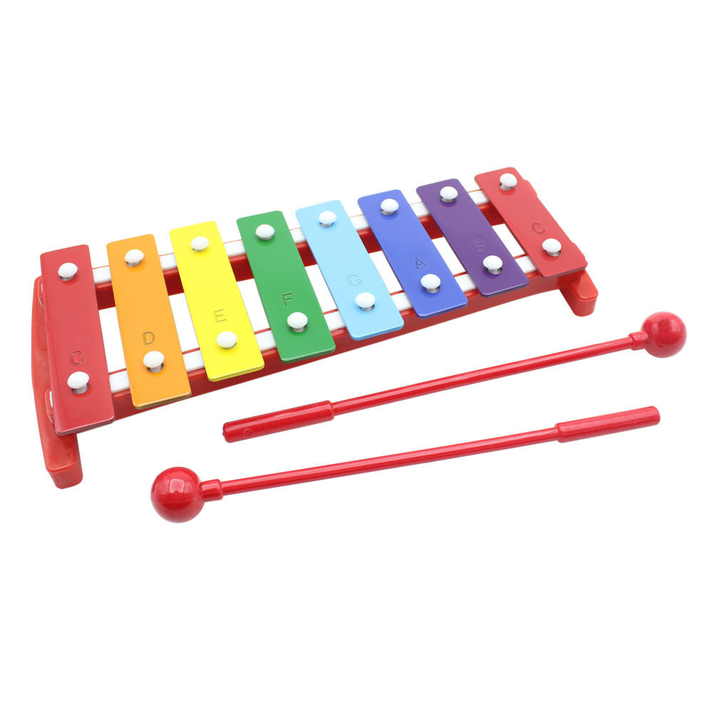 Kids 8 Notes Musical Xylophone Piano Wooden Glockenspiel ...
