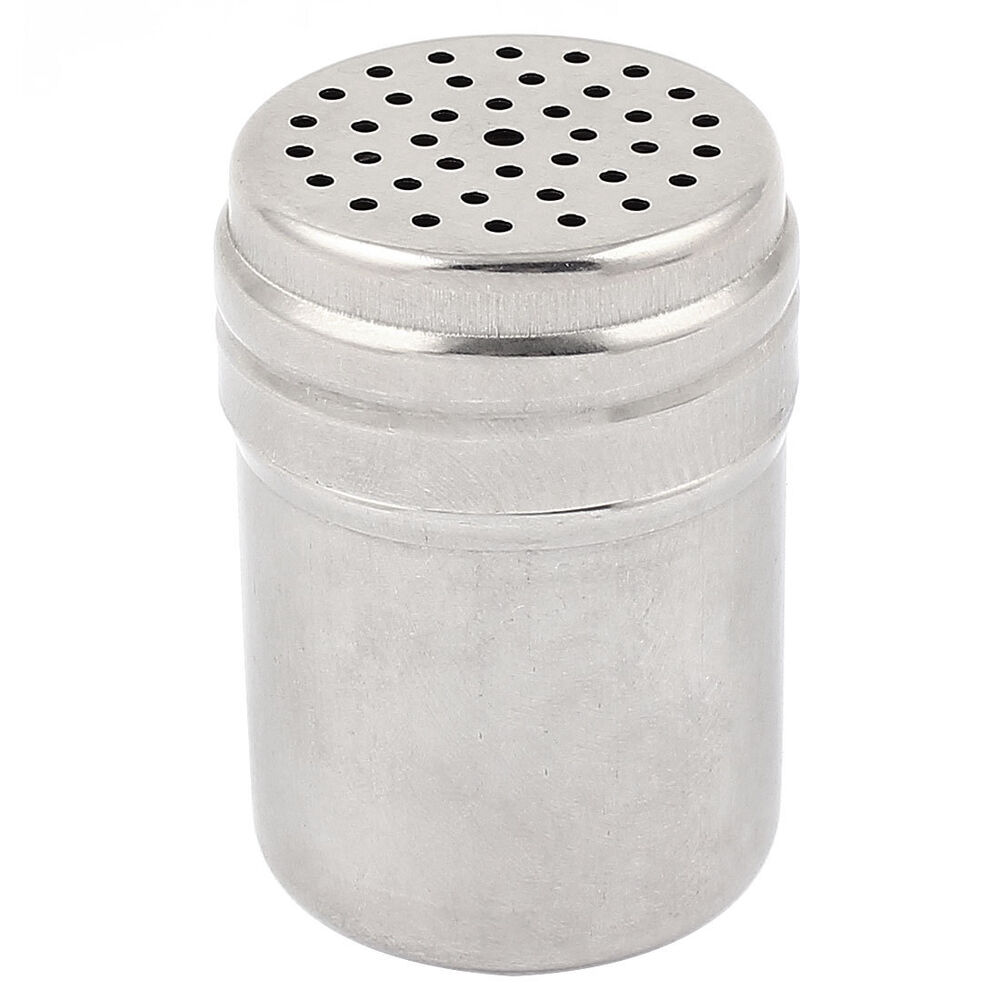 Stainless Steel Cylindrical Toothpick Holder Container Box