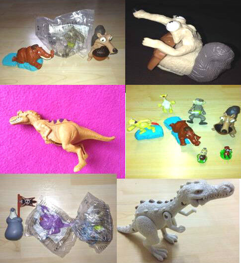 Toys From Ice Age 1 : Mcdonalds ice age toy figures scrat rudy dinosaur ebay