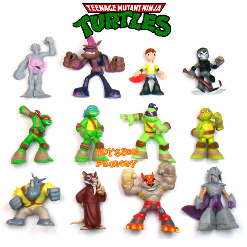 Mini Ninja Toys : Pcs teenage mutant ninja turtles movie tmnt mini figures