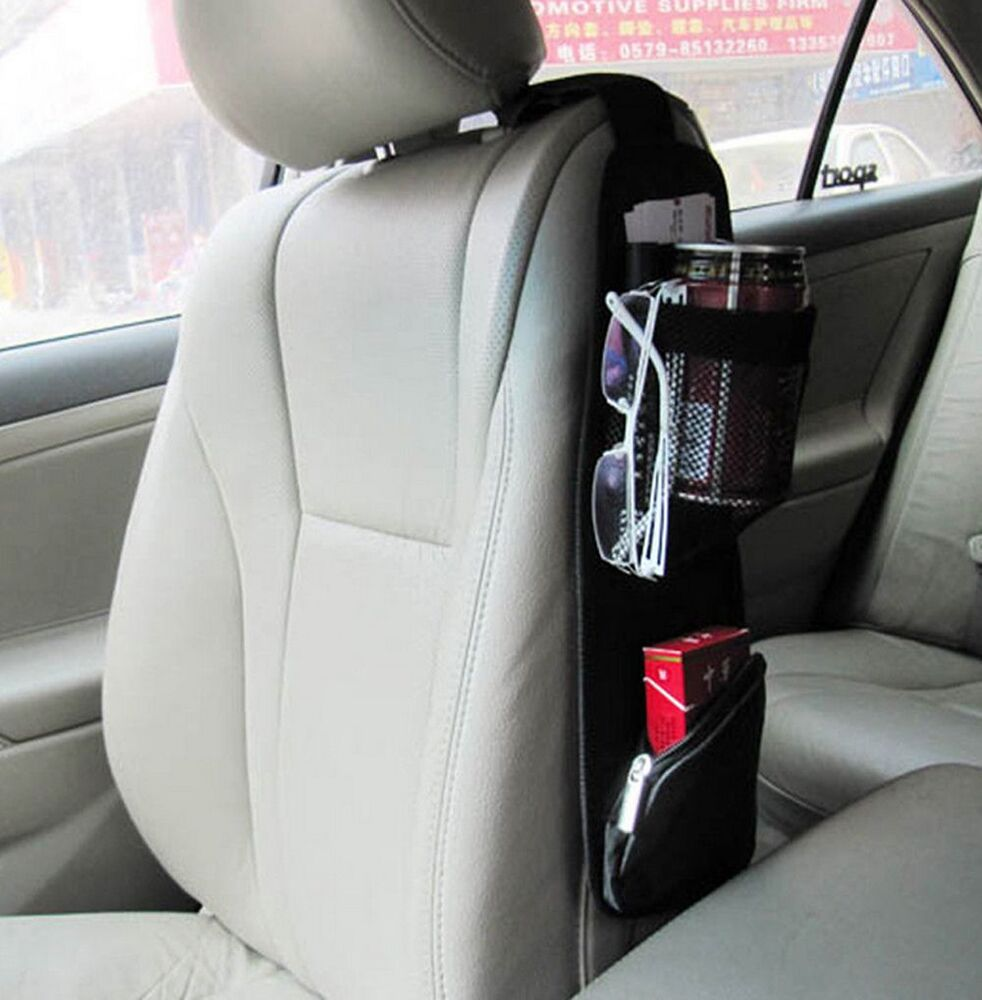 car seat side storage organizer interior multi use bag accessory new ebay. Black Bedroom Furniture Sets. Home Design Ideas
