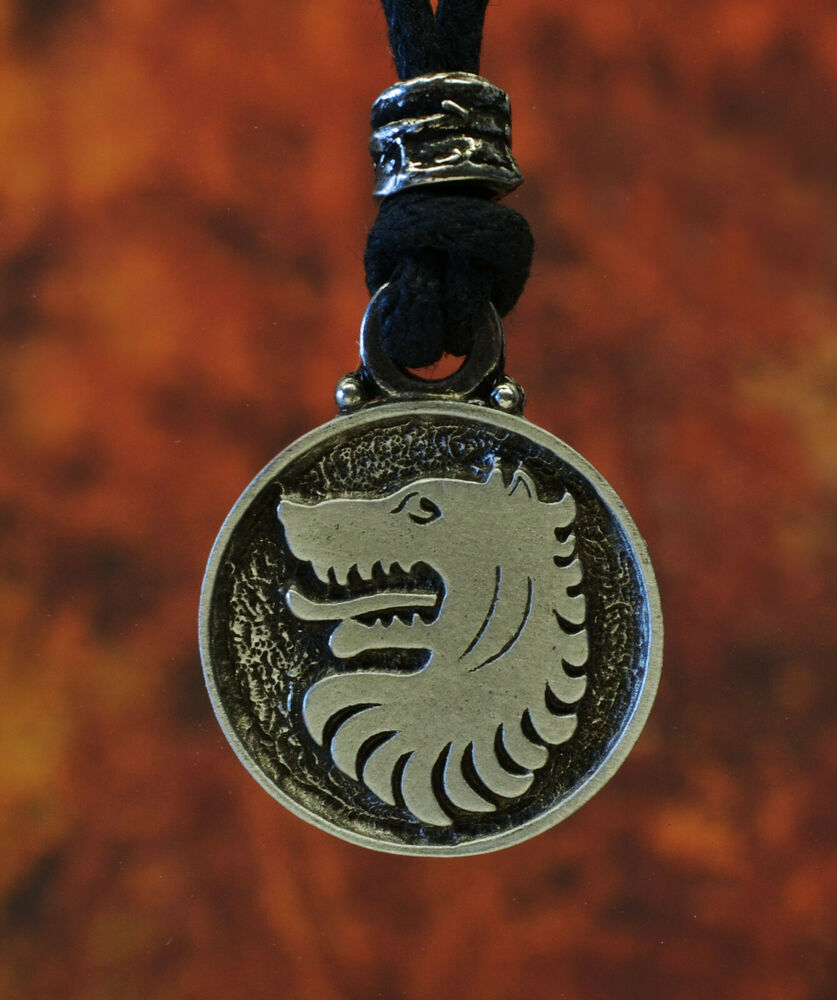 pewter norse wolf macht pendant museumreplicascom - 837×1000