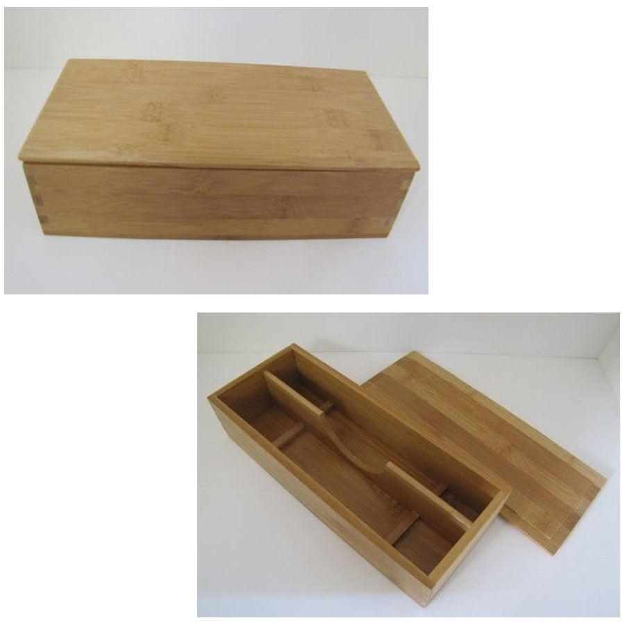 Cutlery knife tray box caddy storage flatware silverware for Box for flatware storage