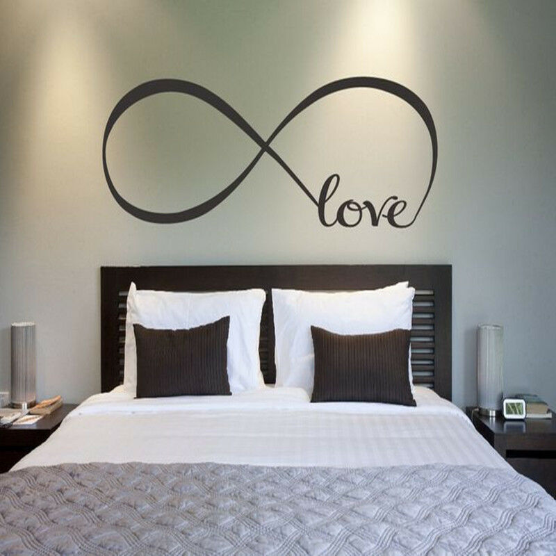 Cool love removable wall stickers art vinyl quote decal for Stickers chambre love