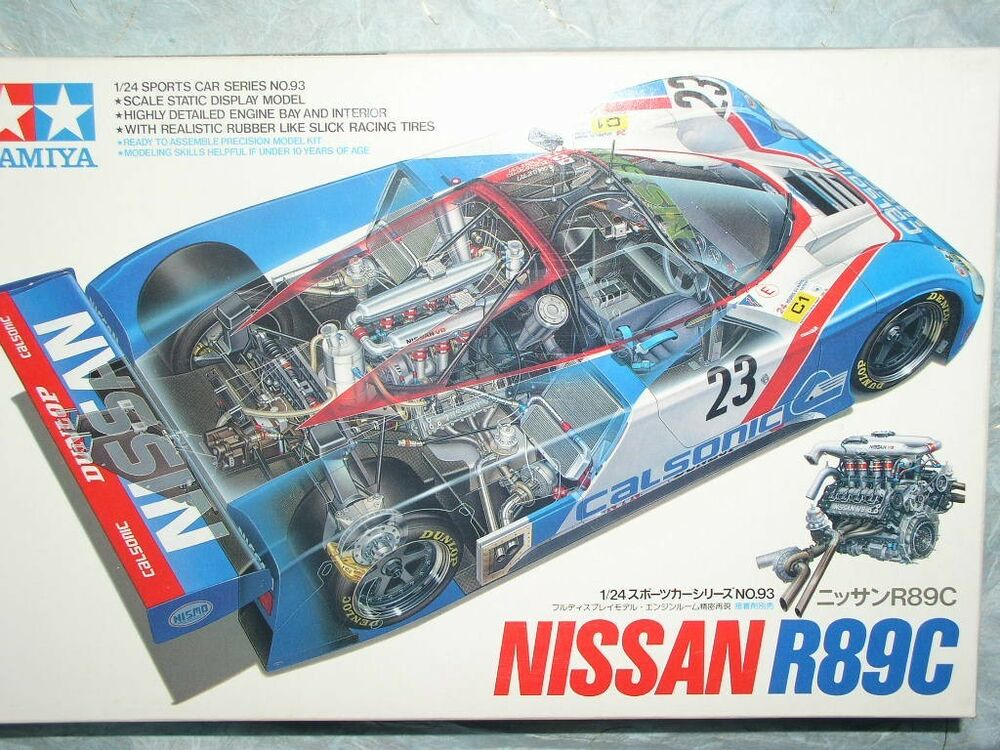 Tamiya 1 24 Nissan R89c Model Race Car Kit 24093 Ebay
