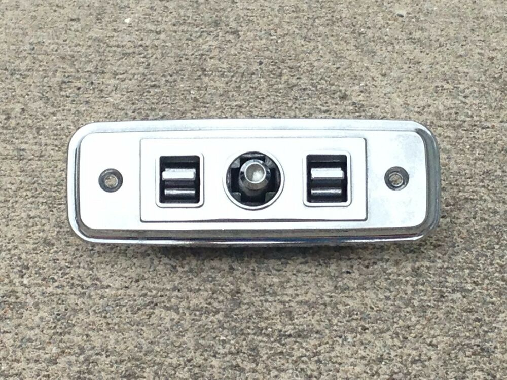 1984 1987 Buick Regal GNX Grand National Chrome Power Seat