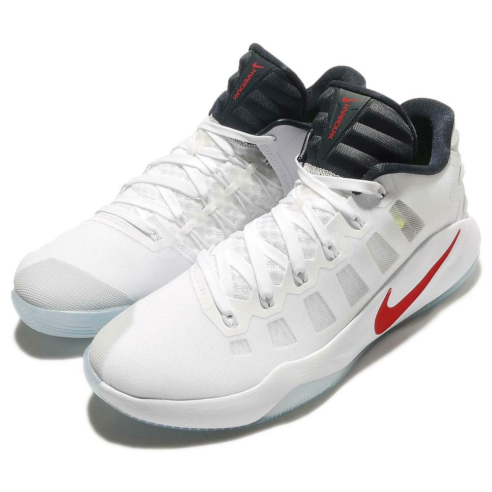fd5c7903d8c24 Details about Nike Hyperdunk 2016 Low EP USA Rio Olympics White Red Mens  Basketball 844364-146