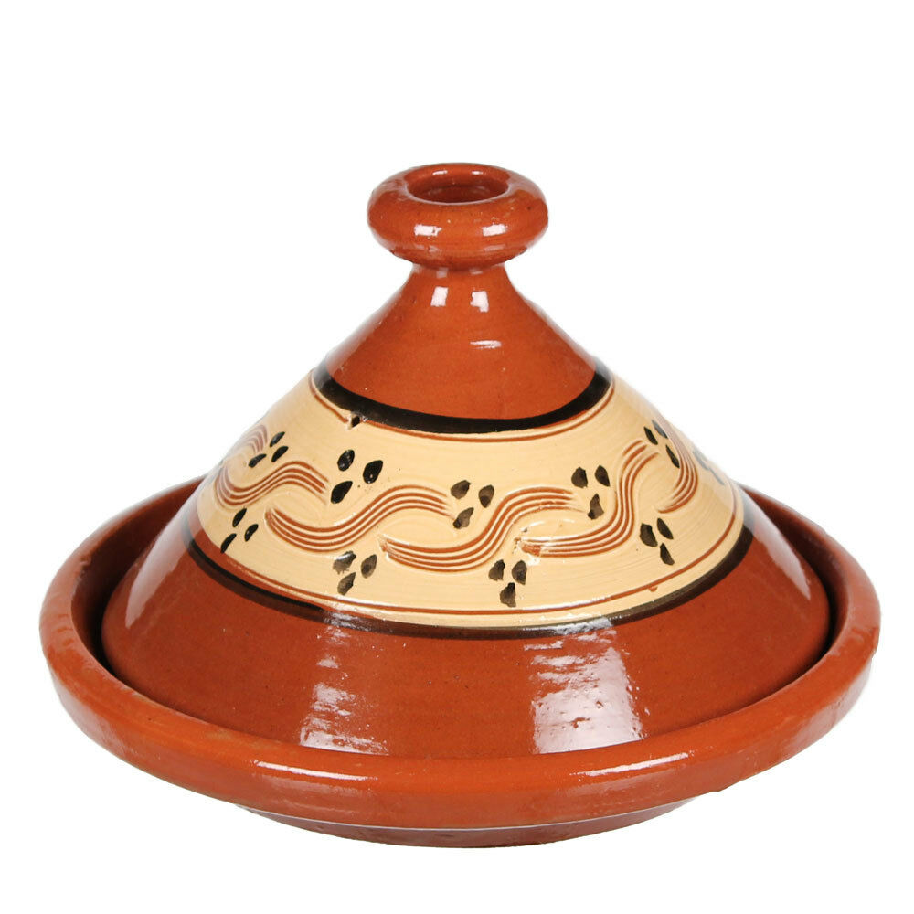 marokkanische tajine gartopf tagine tontopf kochtopf kochtajine 2 gr ssen ebay. Black Bedroom Furniture Sets. Home Design Ideas