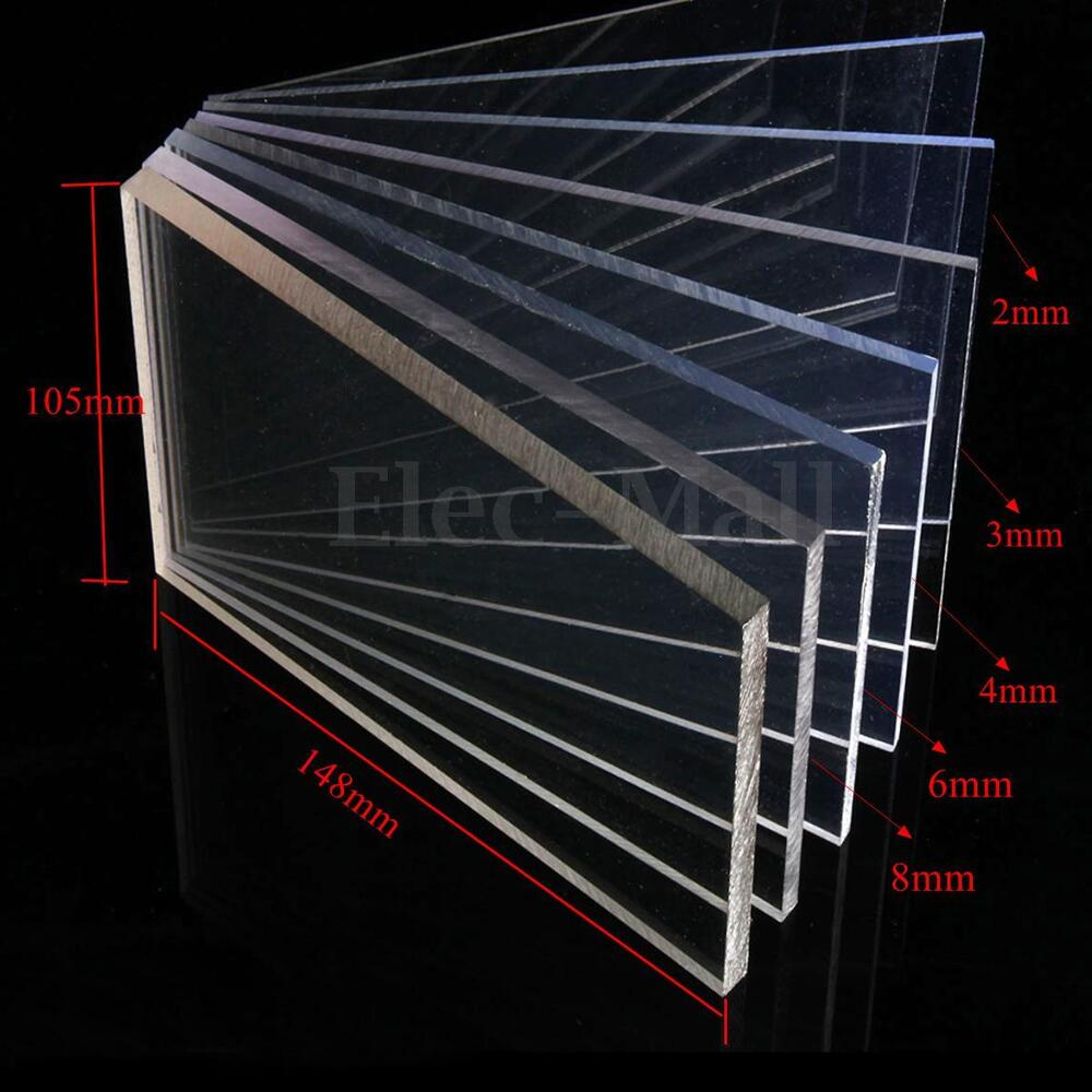 Transparent Pc Plastic Panel Clear Acrylic Perspex Sheet