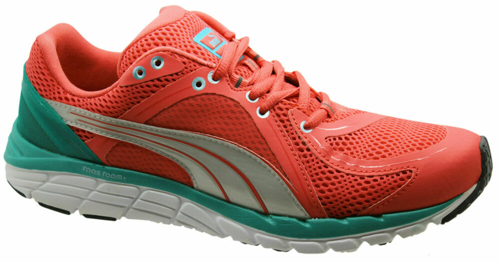 Puma Faas 600 S Womens Trainers Running Shoes Lace Up Mesh Peach 186734 09 D2 | eBay